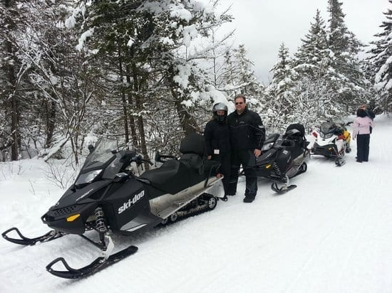 sledventures snowmobile tours