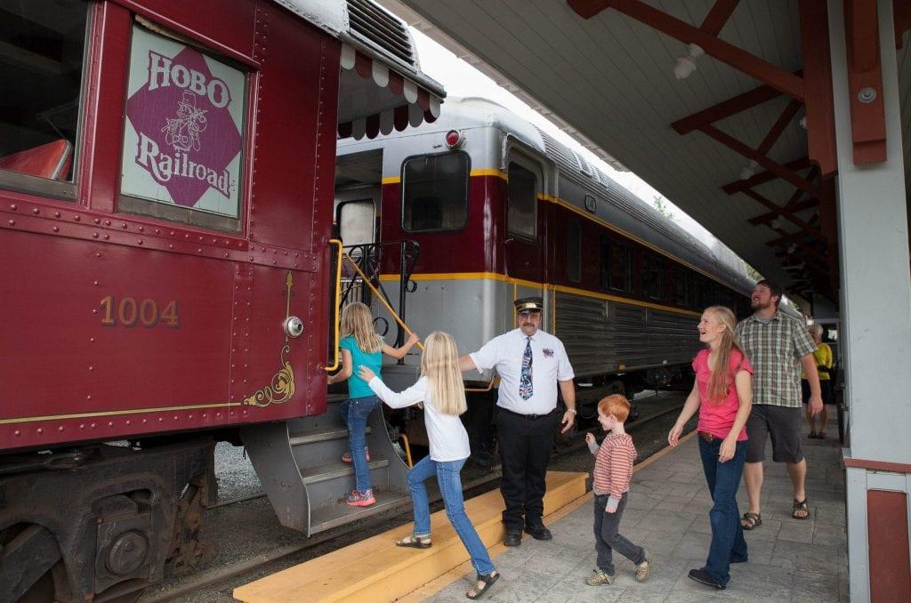 hobo railroad - white mountains train
