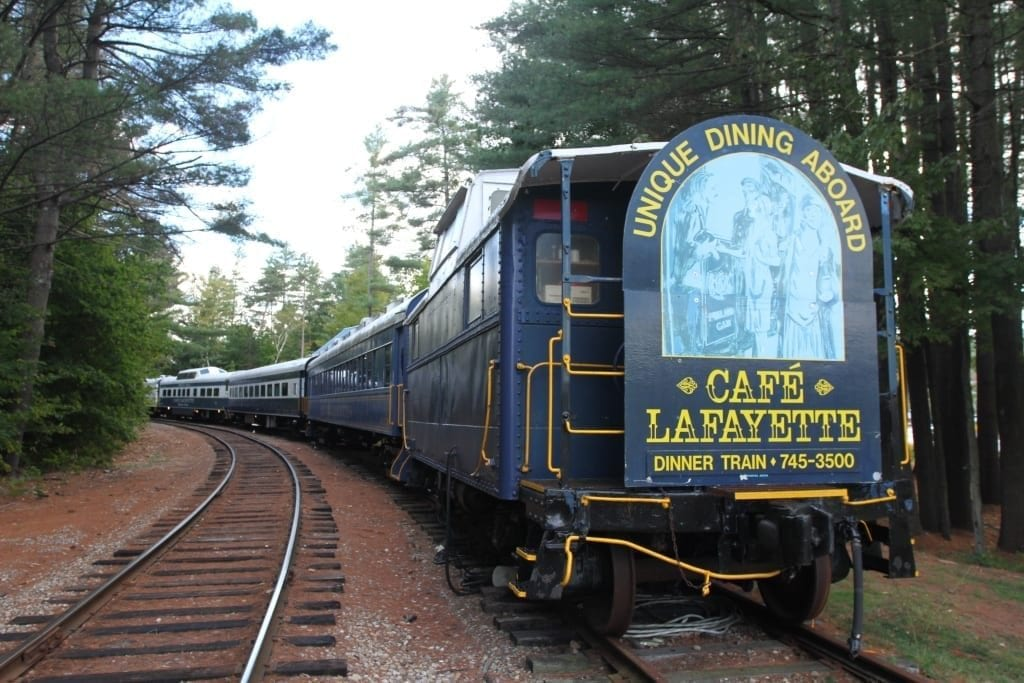 white mountains dinner train