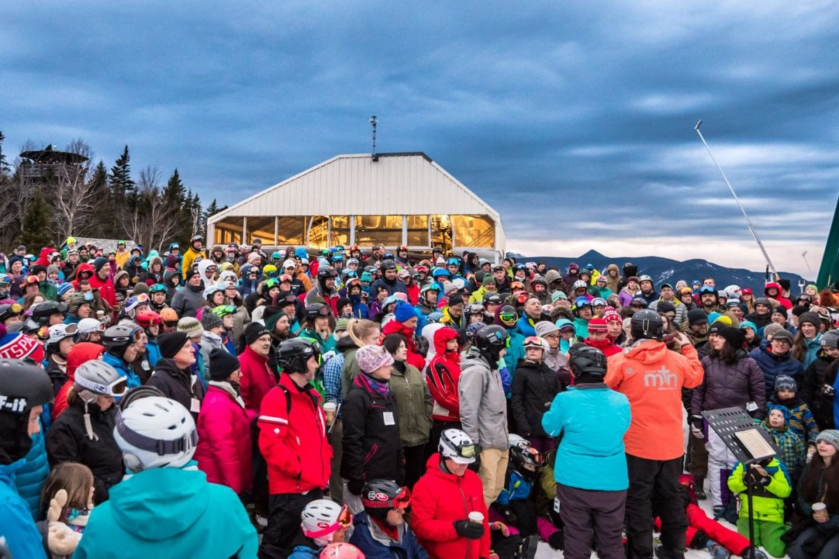 Loon Mountain Ministry Mountaintop Service