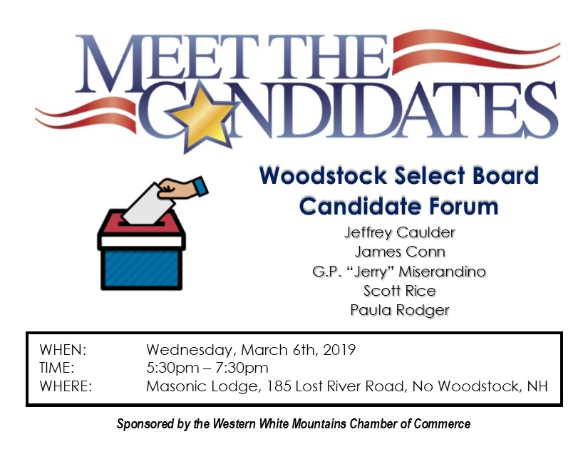 Woodstock Select Board Meet the Candidates Night | Western