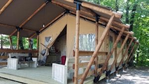 Glamping Tent at KOA - unique lodging