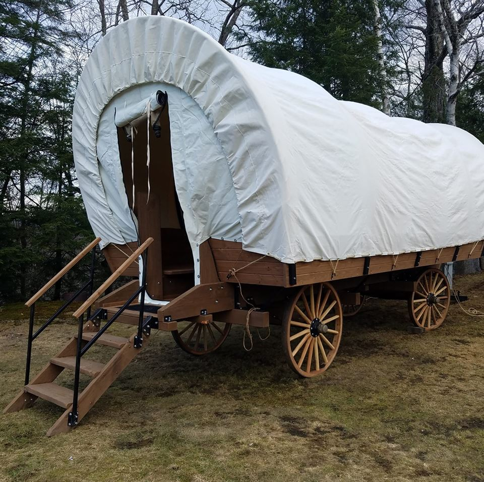 Covered Wagon at KOA Campground - unique lodging