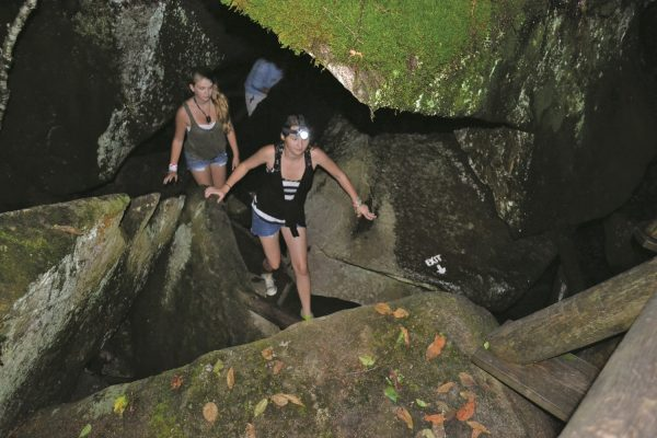 Guided Evening Lantern Tour at Lost River Gorge | Western