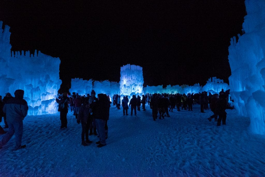 NH ice castle