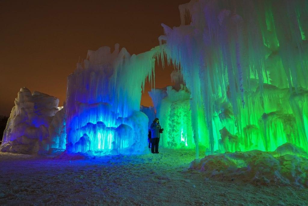 new england ice castles