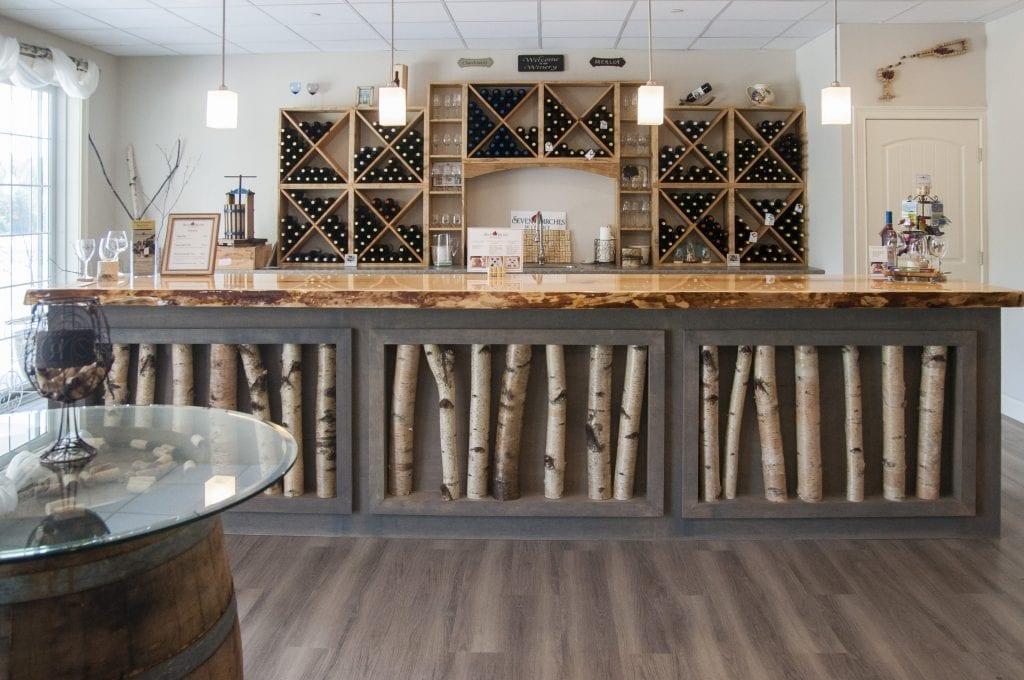 seven birches winery tasting room