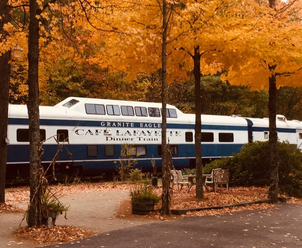 white mountain dinner train