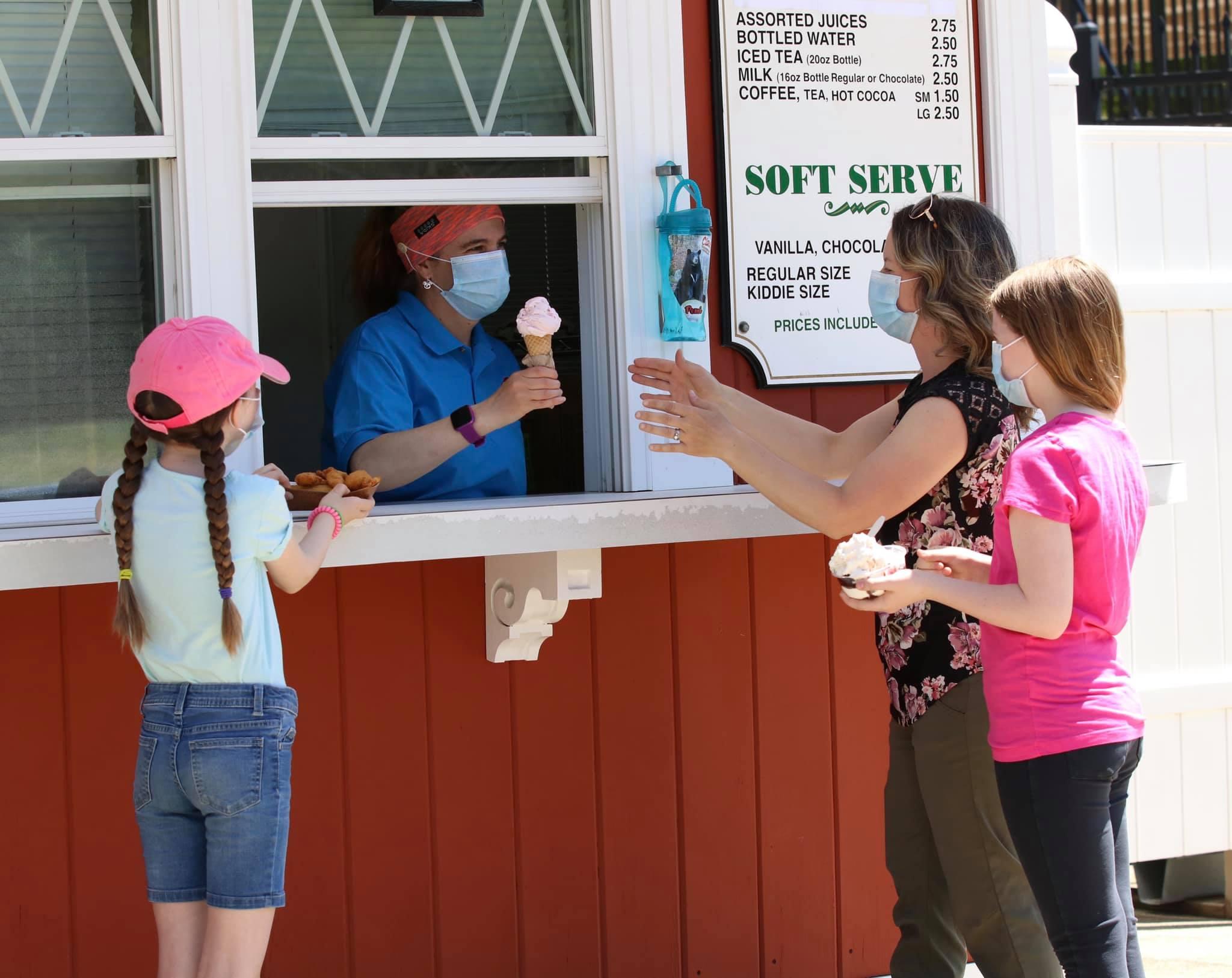 peppermint salon ice cream